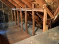 Jenkintown Attic Insulation - Before 1