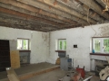 Carriage House Insulation - Before