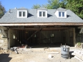 Carriage House Insulation - During