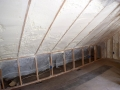 Newtown Stone House Insulation - Attic After