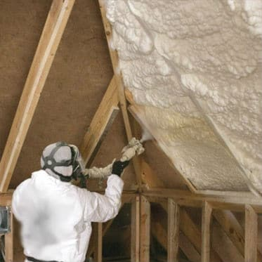 Installing Spray Foam