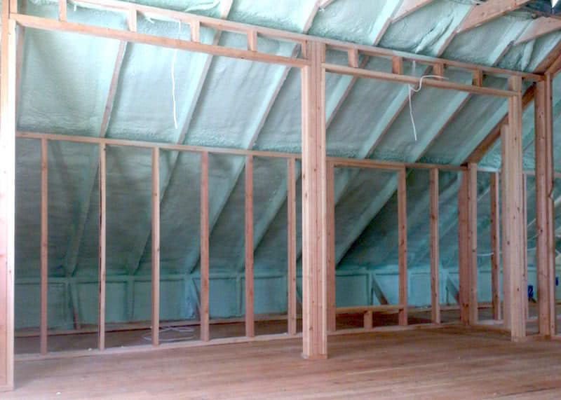 Sample Spray Foam Attic Insulation