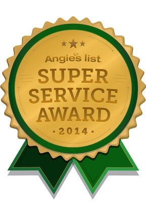 AGL Spray Foam is an Angie's List Super Service Award Winner for 2014