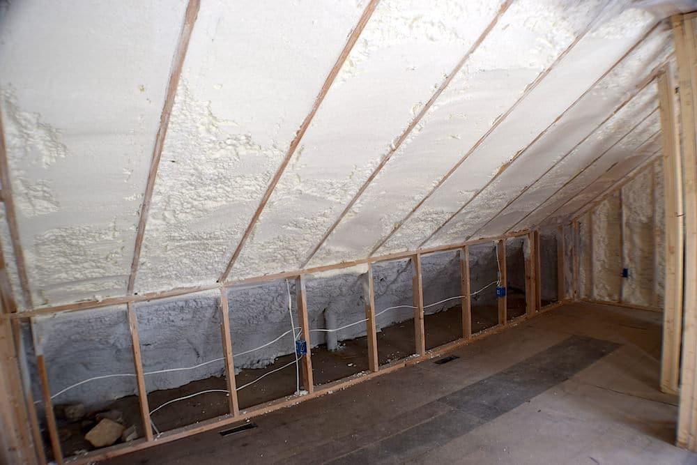 Eagleville Spray Foam - Ceiling