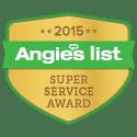 AGL Spray Foam is an Angie's List Super Service Award Winner for 2015