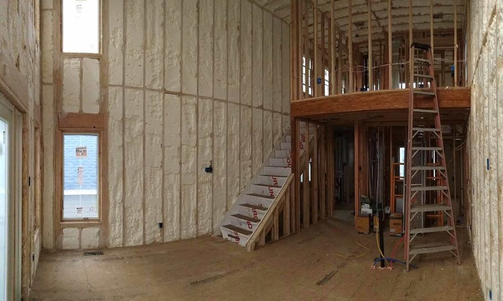 Spray foam insulation in New Jersey